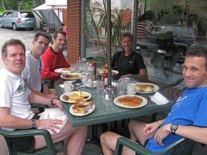JG, Stephane, Peter, John, Paul